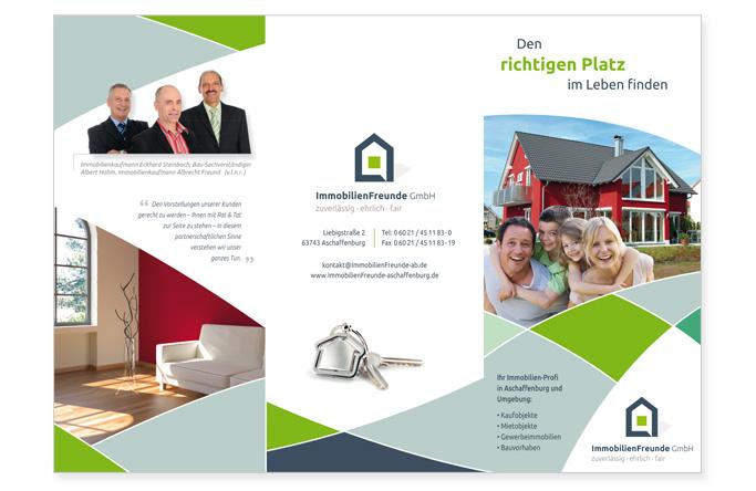 flyer-design | werbeagentur aschaffenburg