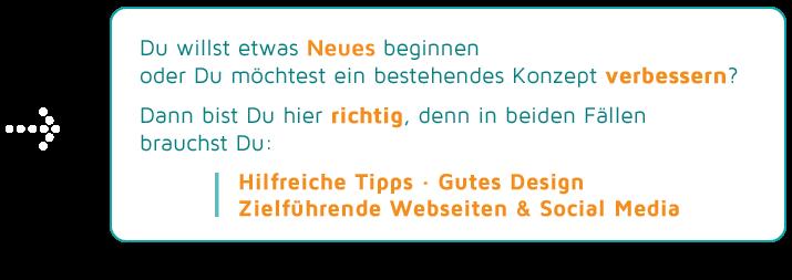 Werbung Webdesign Grafikdesign