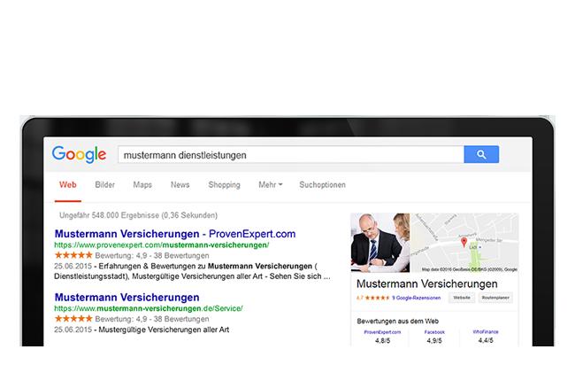 google-sterne bewertung-siegel