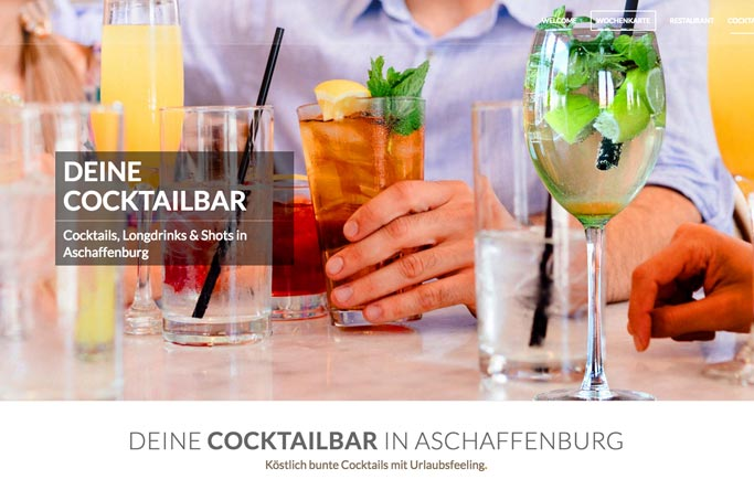 webdesign aschaffenburg restaurant
