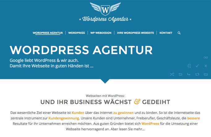 Wordpress Agentur & Webdesign in Aschaffenburg