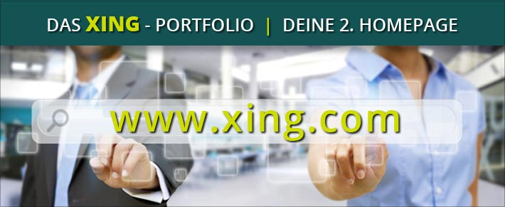 xing portfolio deine 2 homepage. Black Bedroom Furniture Sets. Home Design Ideas